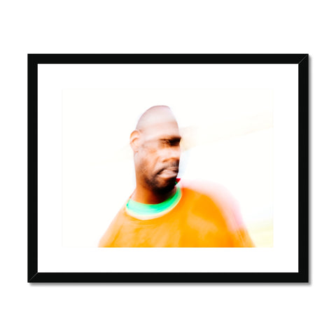 'Portraiture Abstract (no.01)' London, 2016 Framed & Mounted Print