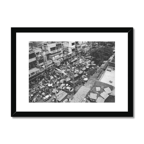 'India (no.628)' Delhi, 2011 Framed & Mounted Print