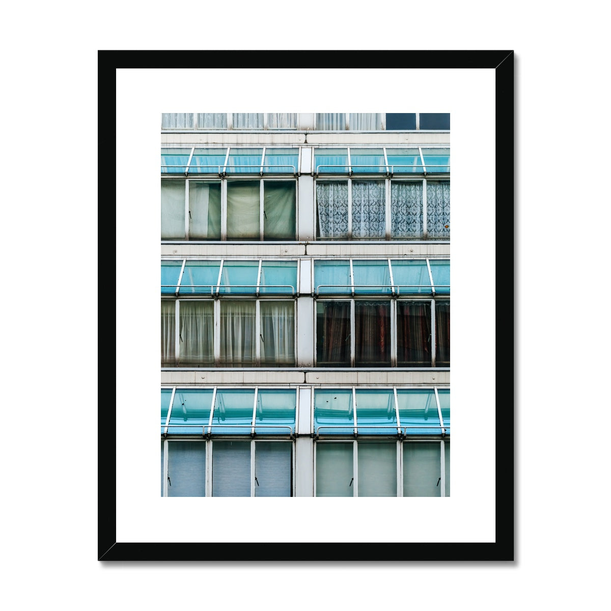 'Architecture (no.05)' London, 2018  Framed & Mounted Print