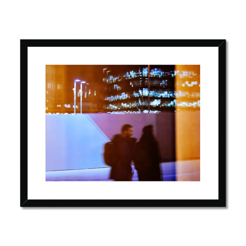 'Street Nights (no.01)' London, 2018 Framed & Mounted Print