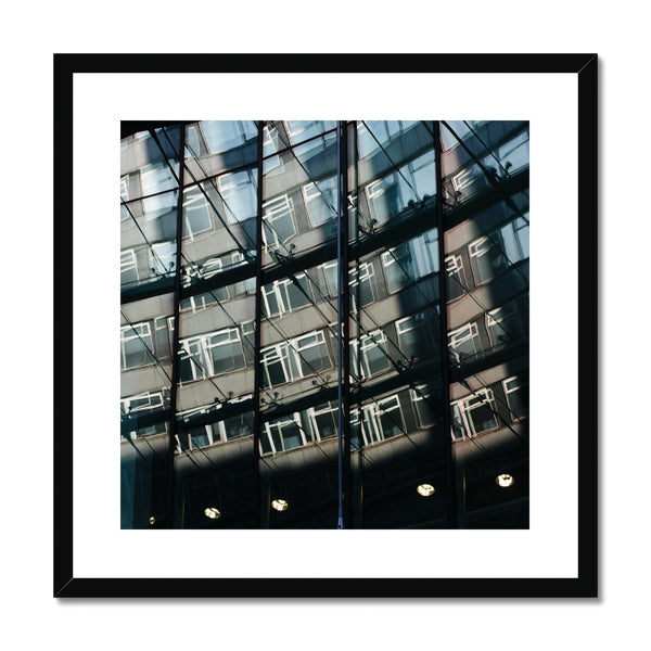 'Architecture (no.02)' London, 2017  Framed & Mounted Print
