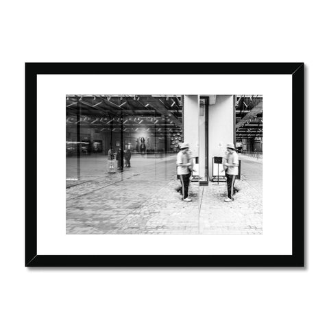 'Streets (no.04)' London, 2018 Framed & Mounted Print