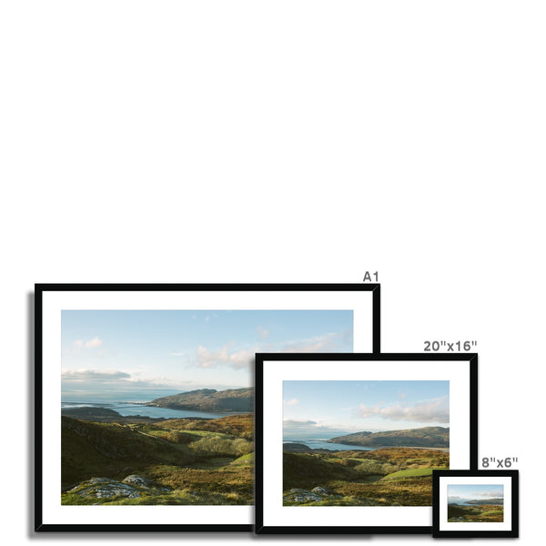 'Landscape (no.01)' Wales, 2019 Framed & Mounted Print