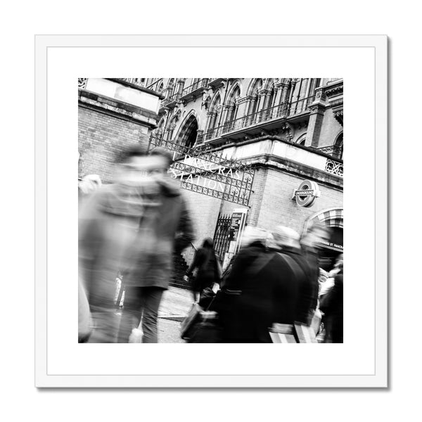 'Streets (no.02)' London, 2018 Framed & Mounted Print