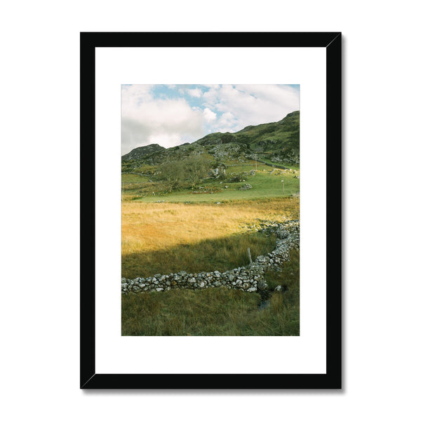 'Landscape (no.03)' Wales, 2019 Framed & Mounted Print