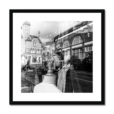 'Streets (no.03)' London, 2018 Framed & Mounted Print