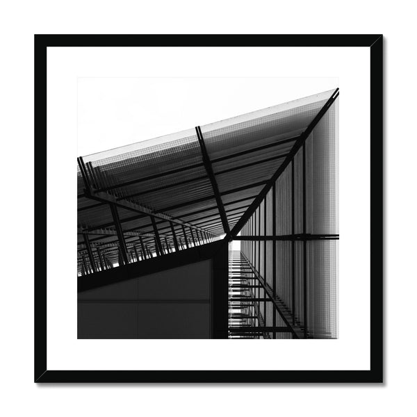 'Architecture (no.01)' London, 2017  Framed & Mounted Print