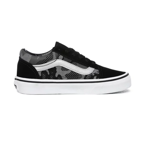 VANS PATTERN CAMO OLD SKOOL SHOES VN0A4BUU0GS (NEGRO)