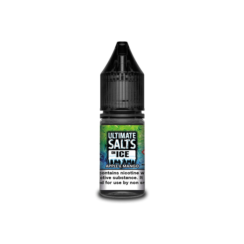 Ultimate Juice Nicotine Salt E-Liquid Apple & Mango Ice 10MG - Medium Nicotine
