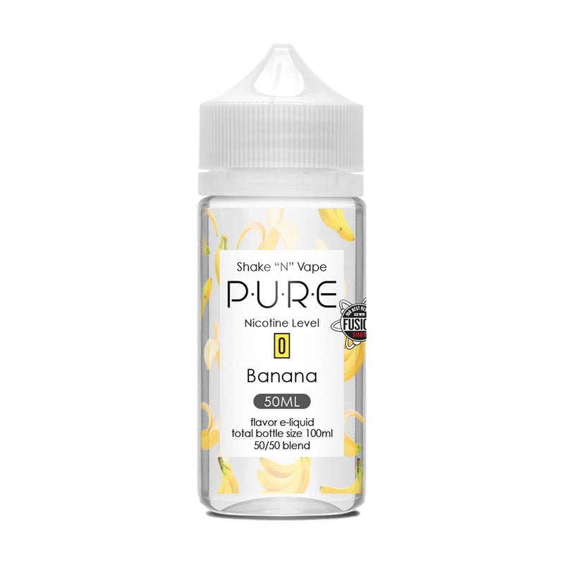 PURE Short Fill E-Liquid Banana