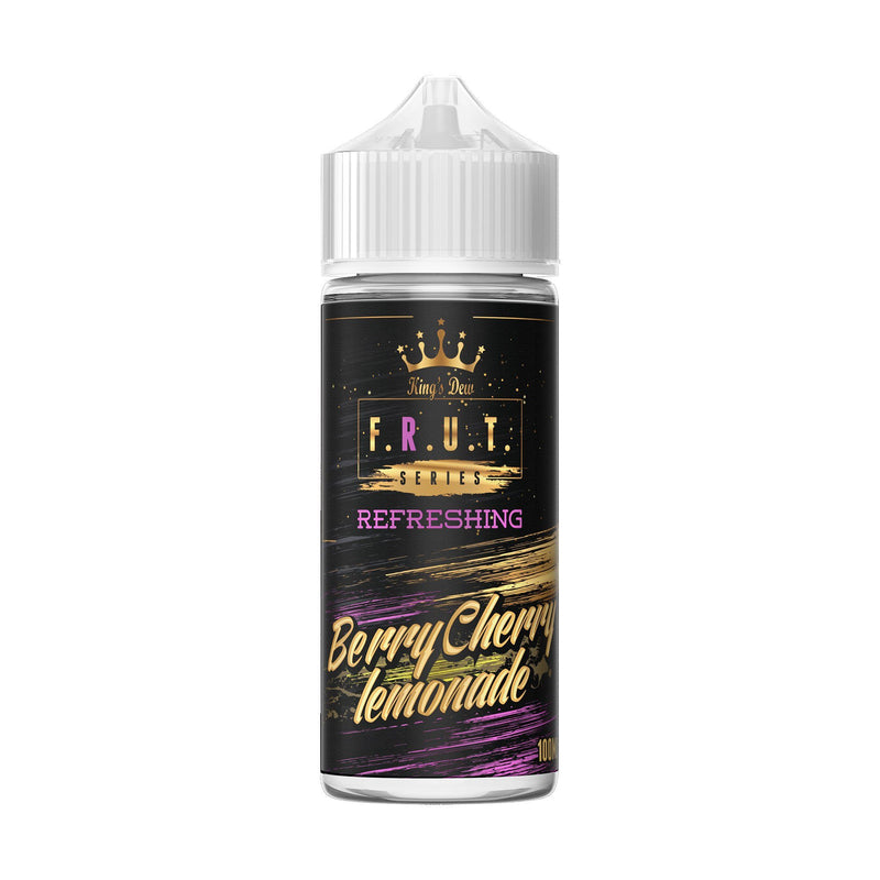 King's Dew F.R.U.T Series Short Fill E-Liquid Berry Cherry Lemonade