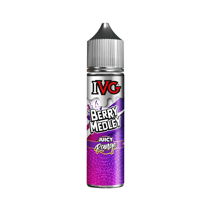 IVG Juicy Range Short Fill E-Liquid Berry Medley