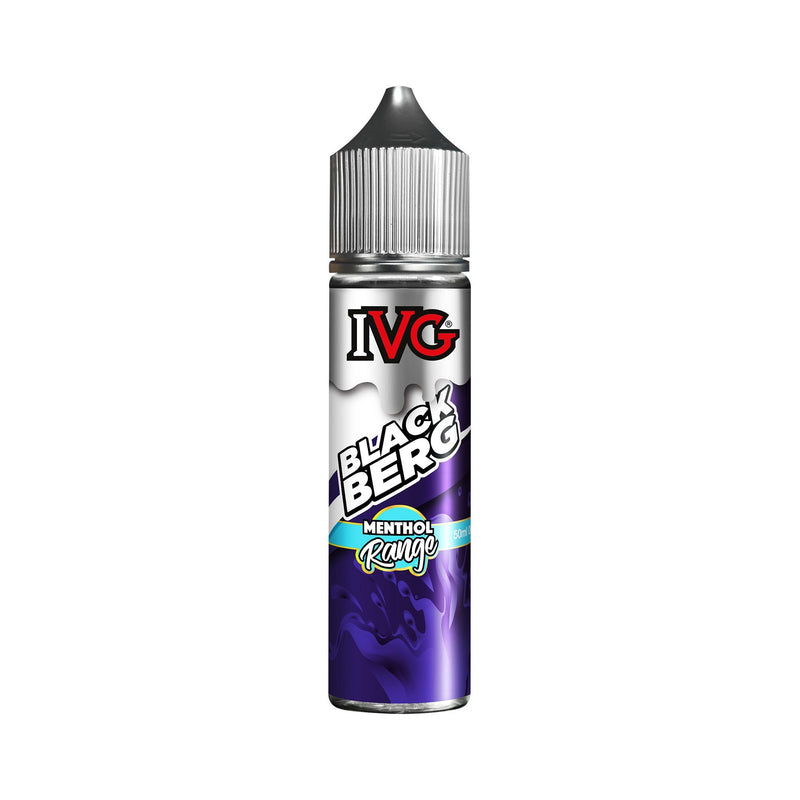 IVG Menthol Range Short Fill E-Liquid Blackburg