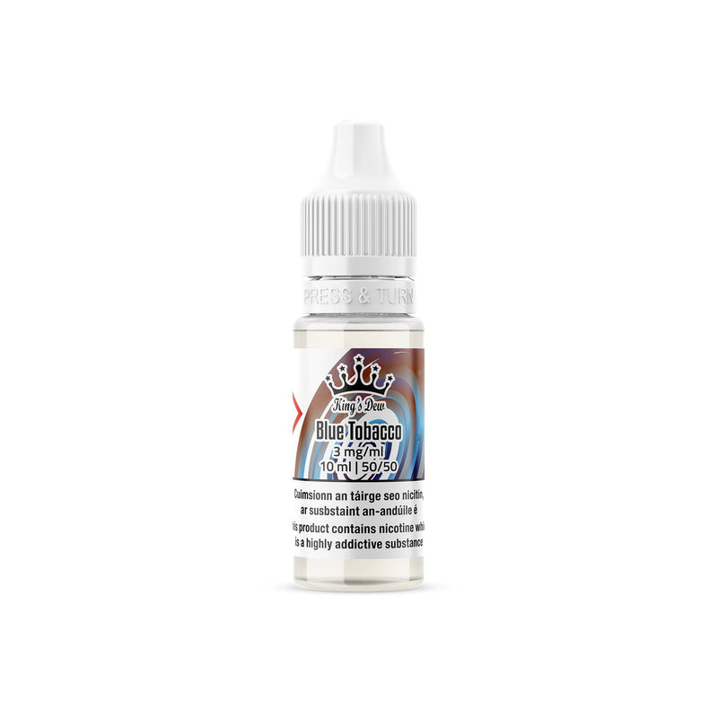 King's Dew E-Liquid Blue Tobacco 3MG - Very Low Nicotine