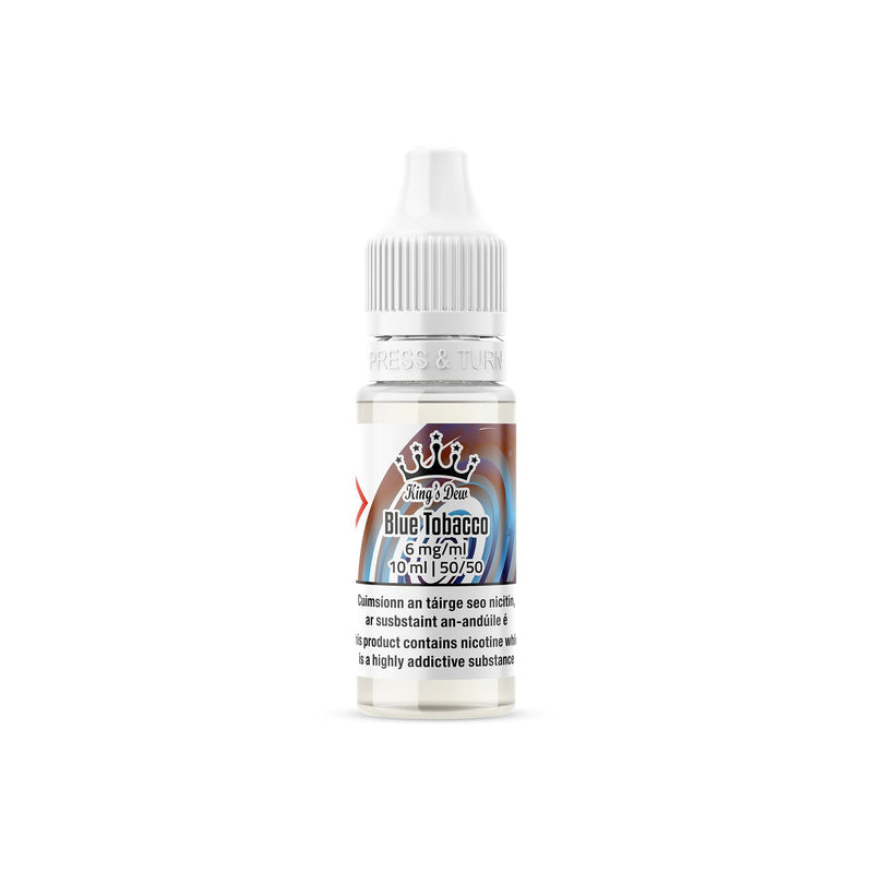 King's Dew E-Liquid Blue Tobacco 6MG - Low Nicotine