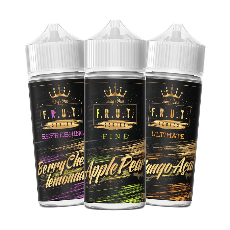 King's Dew F.R.U.T Series Short Fill E-Liquid