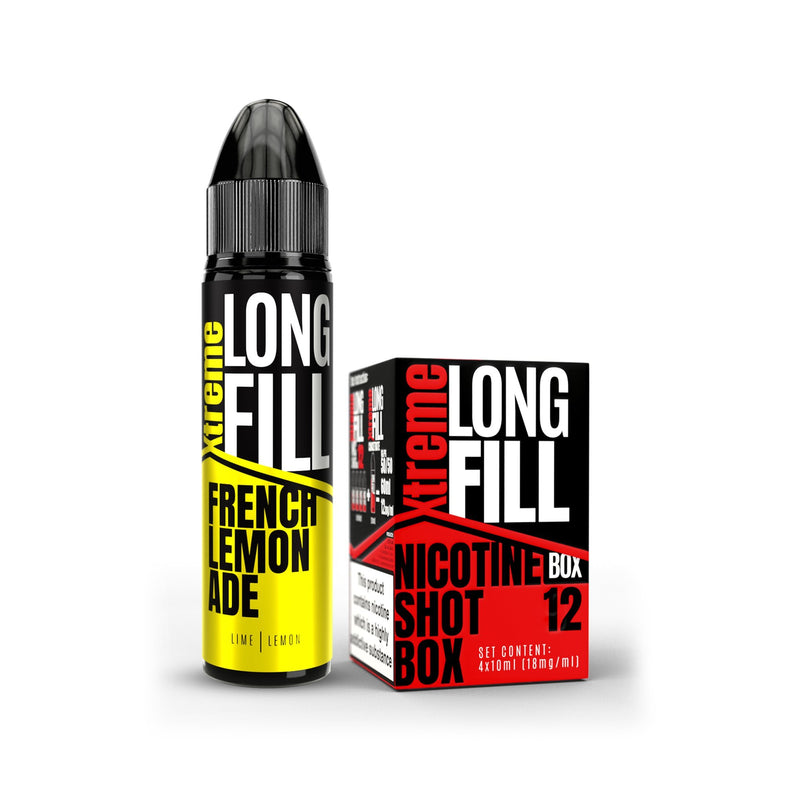 Xtreme Long Fill E-Liquid French Lemonade 12MG - High Nicotine