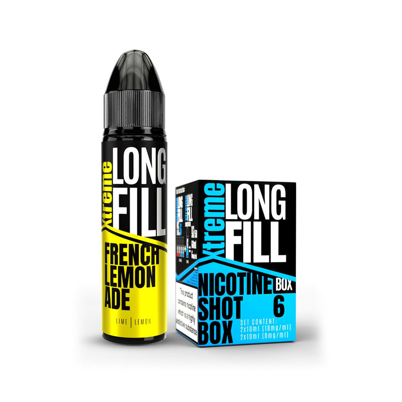 Xtreme Long Fill E-Liquid French Lemonade 6MG - Low Nicotine