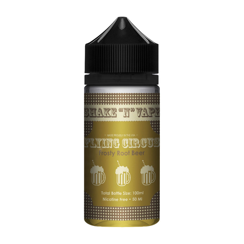 Flying Circus Short Fill E-Liquid Frosty Root Beer