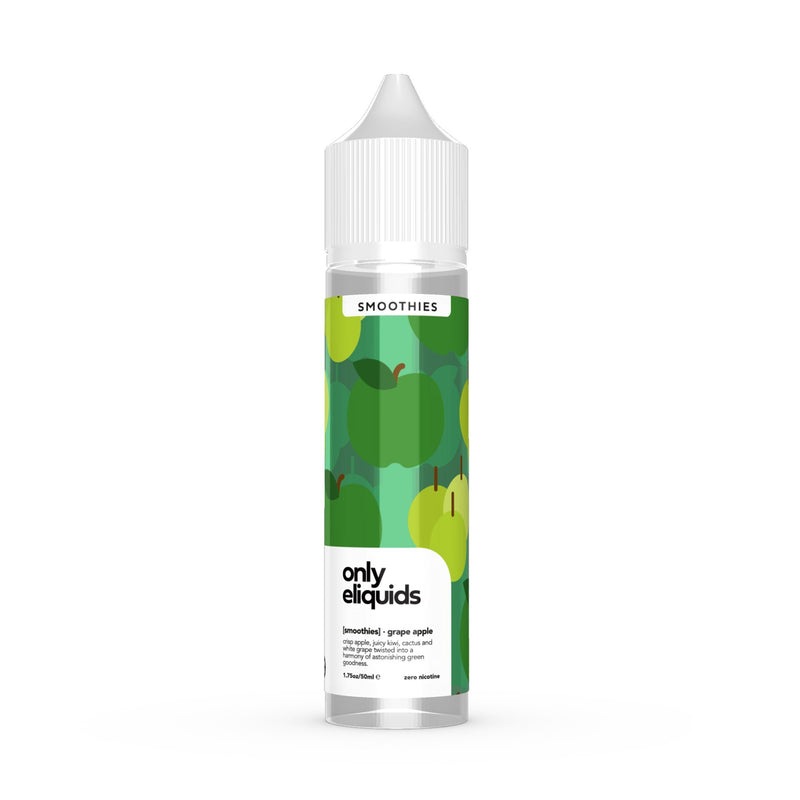 Only E-Liquids Smooties Range Grape Apple