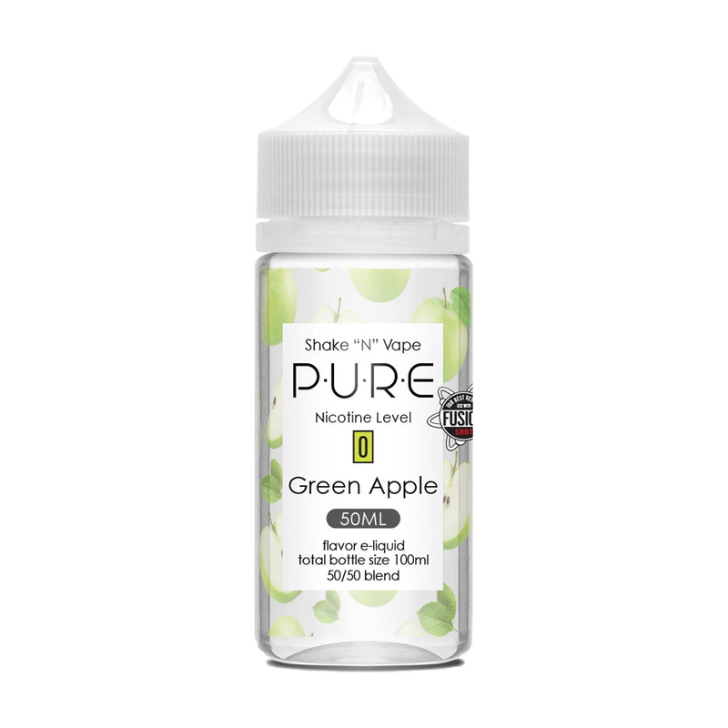 PURE Short Fill E-Liquid Green Apple