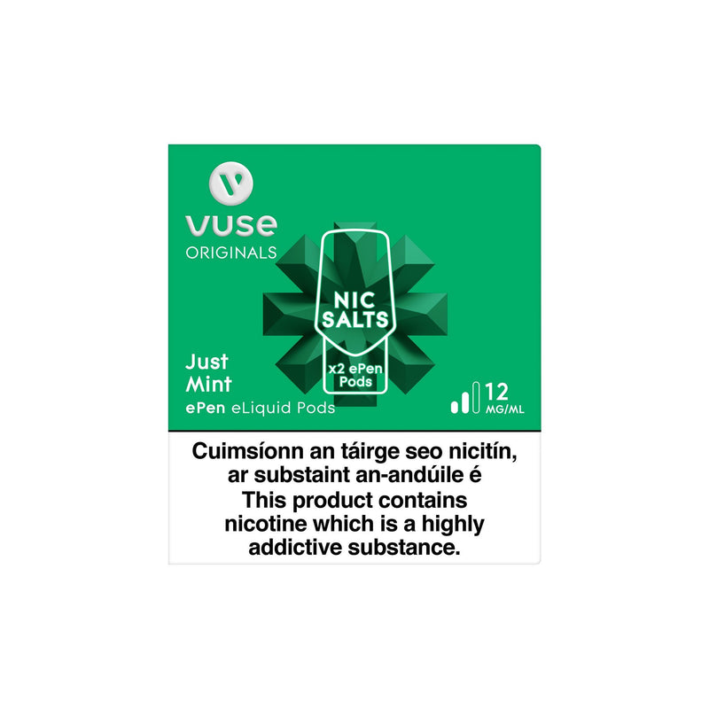 Vype ePen 3 Cartridges Just Mint 12MG vPro - Medium Nicotine