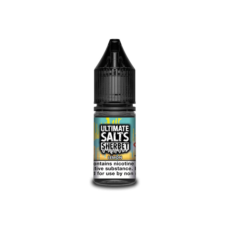 Ultimate Juice Nicotine Salt E-Liquid Lemon Sherbet 10MG - Medium Nicotine