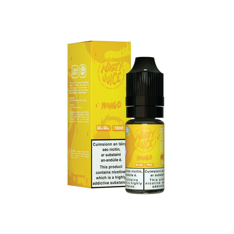 Nasty Juice E-Liquid Mango - Cushman 6MG - Low Nicotine