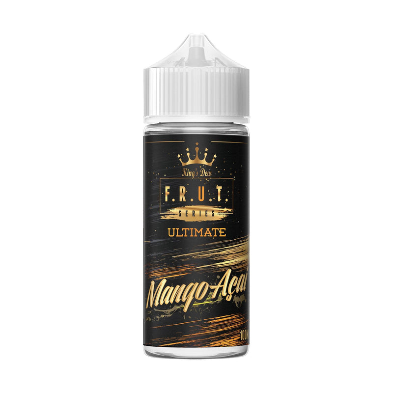 King's Dew F.R.U.T Series Short Fill E-Liquid Mango Acai