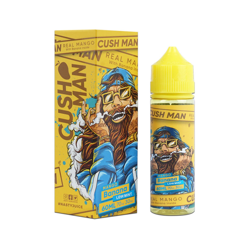 Nasty Juice Cushman Short Fill E-Liquid Mango Banana