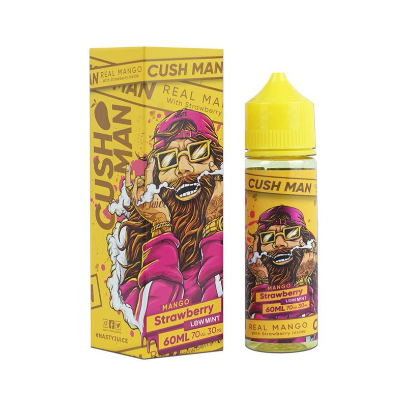 Nasty Juice Cushman Short Fill E-Liquid Mango Strawberry