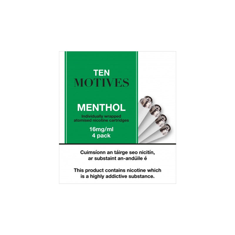 Ten Motives Refill Menthol - 16mg/ml