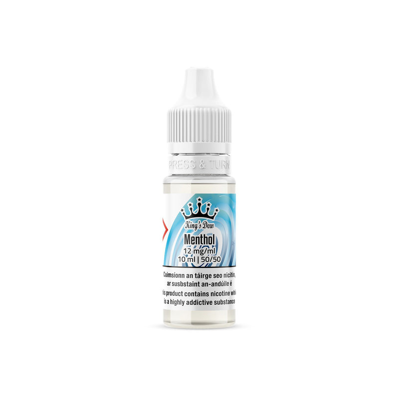 King's Dew E-Liquid Menthol 12MG - Medium Nicotine