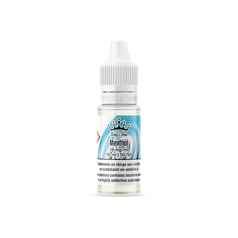 King's Dew E-Liquid Menthol 18MG - High Nicotine