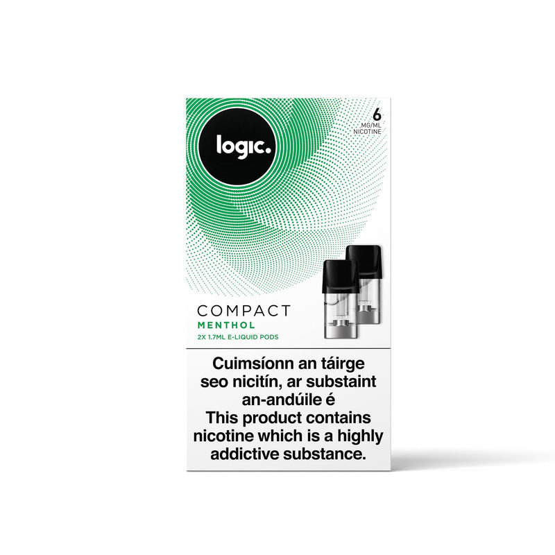 Logic Compact Pods Menthol 6MG - Low Nicotine