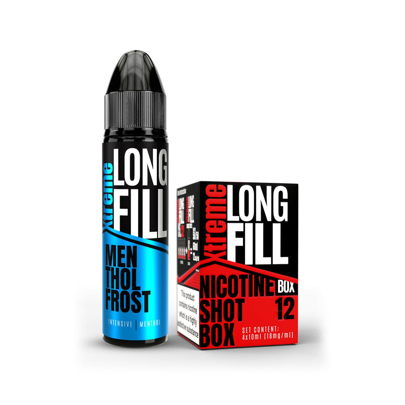Xtreme Long Fill E-Liquid Menthol Frost 12MG - High Nicotine