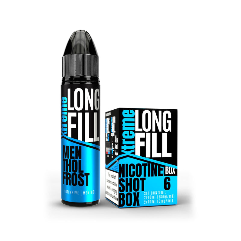 Xtreme Long Fill E-Liquid Menthol Frost 6MG - Low Nicotine