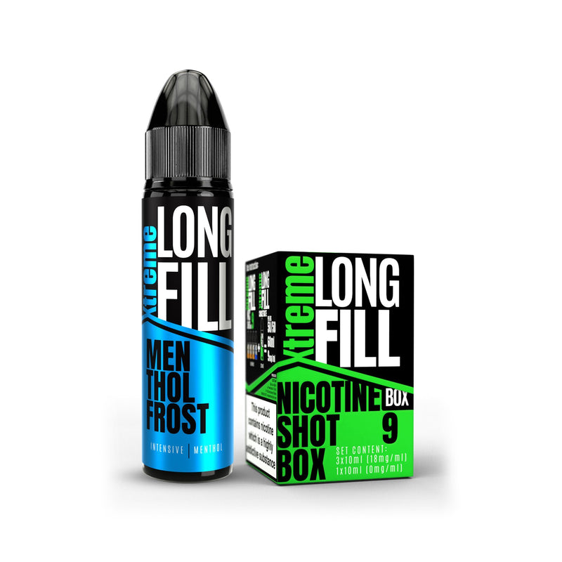Xtreme Long Fill E-Liquid Menthol Frost 9MG - Medium Nicotine