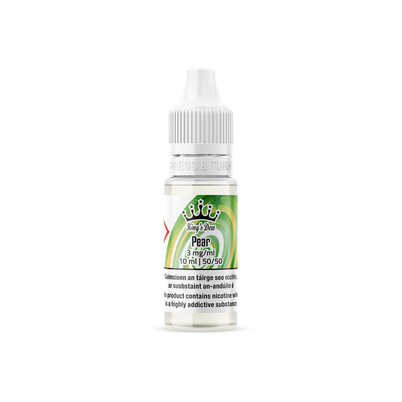 King's Dew E-Liquid Pear 3MG - Very Low Nicotine