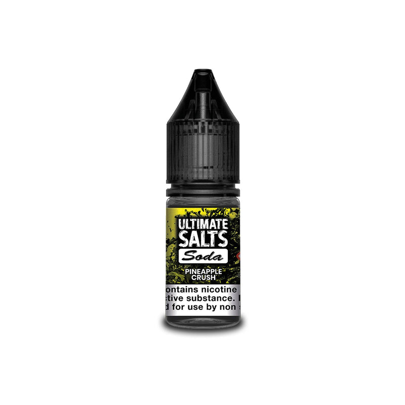 Ultimate Juice Nicotine Salt E-Liquid Pineapple Crush Soda 10MG - Medium Nicotine