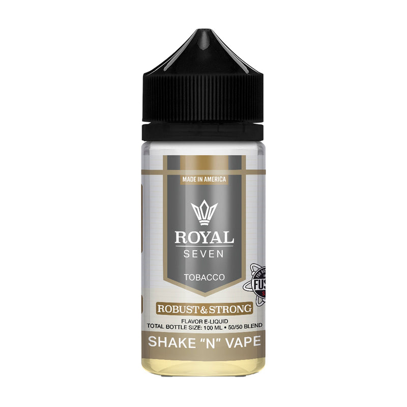 Royal Seven Short Fill E-Liquid Robust & Strong