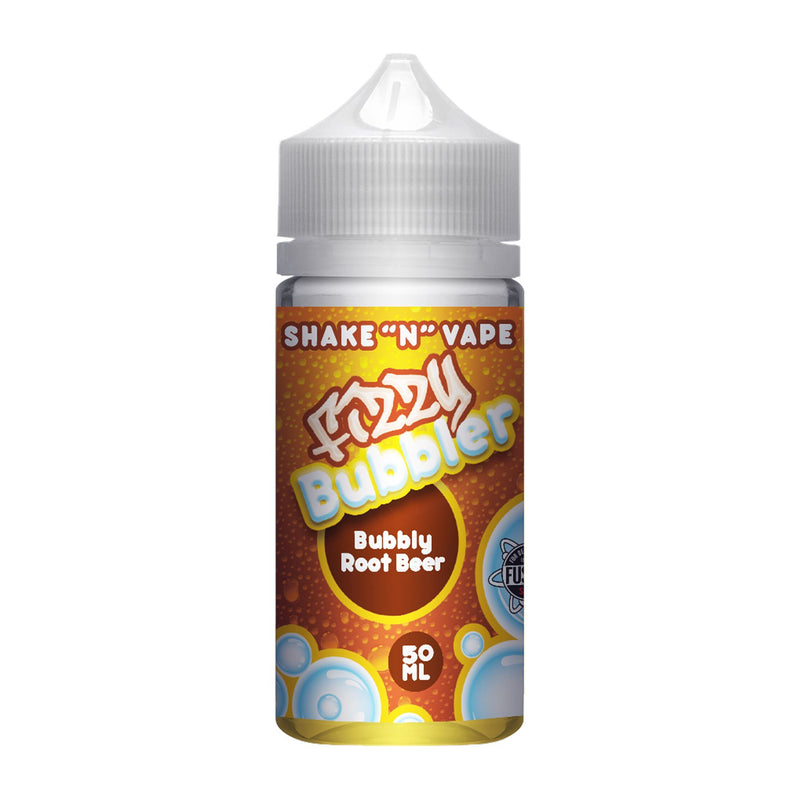 Fizzy Bubbler Short Fill E-Liquid Bubbly Root Beer