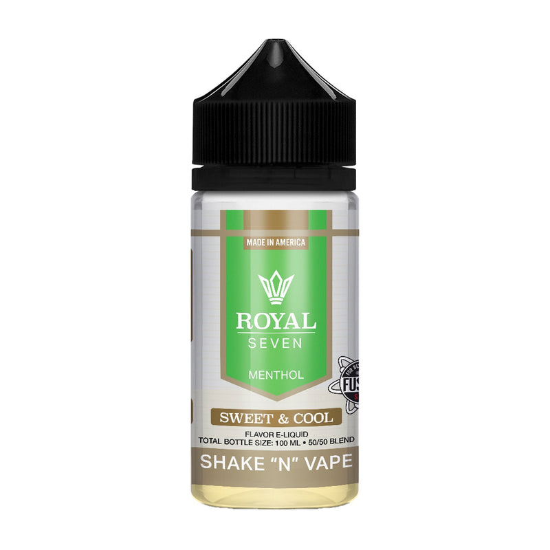 Royal Seven Short Fill E-Liquid Sweet & Cool