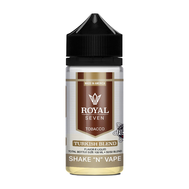 Royal Seven Short Fill E-Liquid Turkish Blend