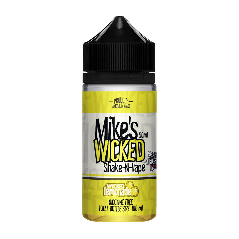Mike's Wicked Short Fill E-Liquid Wicked Lemonade