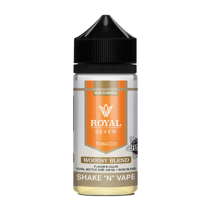 Royal Seven Short Fill E-Liquid Woodsy Blend