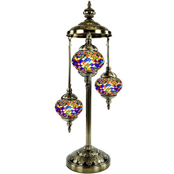 Mosaic Floor Lamp 345 ( 3 Glasses)