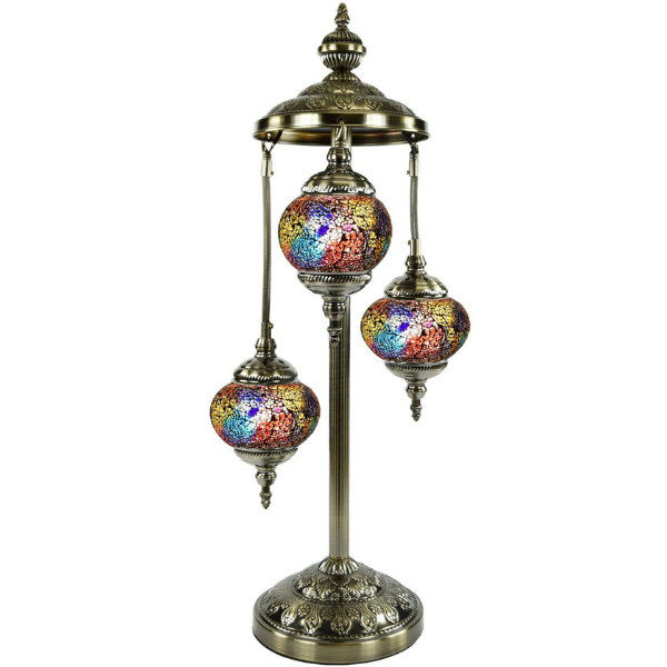 Mosaic Floor Lamp 357 (3 Glasses)