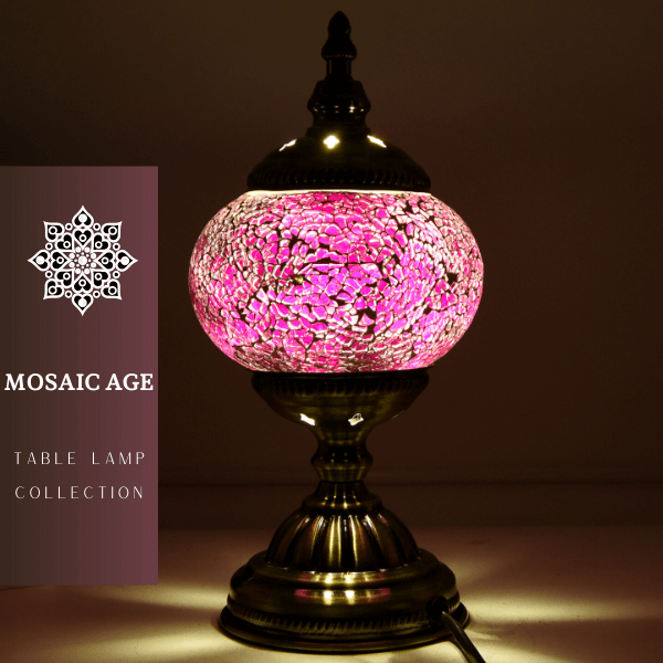 Mosaic Table Lamp 015
