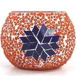 Mosaic Candle Holder 431